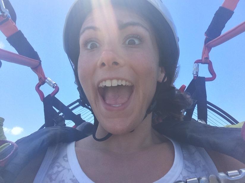 Paragliding!